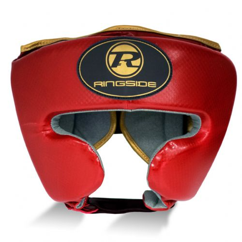 Ringside Pro Fitness Cheek Headguard - Red/Gold